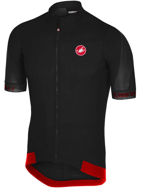 Castelli Volata 2 Kortärmad cykeltröja Herr svart